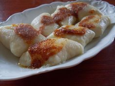 Excellent Polish dumplings. The new flavor to your platee