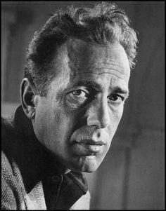 wehadfacesthen:  Humphrey Bogart portrait by Philippe Halsman,...