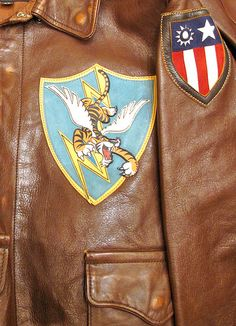 Flying Tigers - A2 jacket - CBI China Burma India - WWII