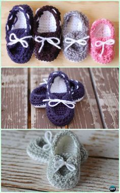 Crochet Baby Boat Booties Free Pattern - Crochet Baby Booties Slippers Free Pattern