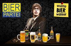 """Gefällt 1,115 Mal, 7 Kommentare - Die Bierpartei (@die.bierpartei) auf Instagram: """"🍻 Der 1. Bierpartei-Stammtisch! 🍻 Heute: 19 Uhr // Dauer: 2h (bzw. 10 Bier) Stell @marco.pogo deine…"""" Character, Instagram, Politics, Beer, Lettering"""