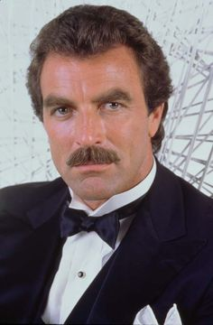 "Tom Selleck-- to quote ZZ TOP, ""Every girl's crazy 'bout a sharp dressed man."""