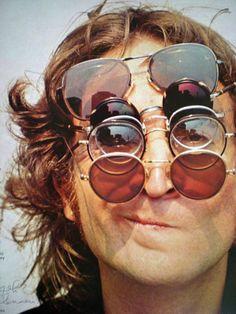 j lennon - glasses 1970