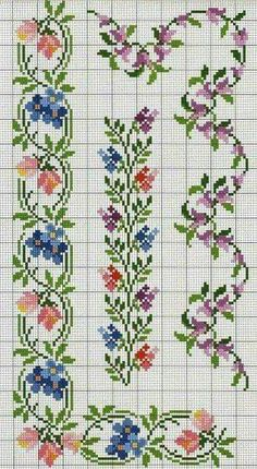 Thrilling Designing Your Own Cross Stitch Embroidery Patterns Ideas. Exhilarating Designing Your Own Cross Stitch Embroidery Patterns Ideas. Cross Stitch Boarders, Cross Stitch Bookmarks, Cross Stitch Flowers, Cross Stitch Charts, Cross Stitch Designs, Cross Stitching, Cross Stitch Patterns, Ribbon Embroidery, Cross Stitch Embroidery