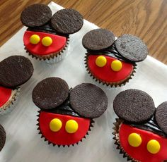 Mickey Mouse Cupcakes - Cake by Claudia Amezcua