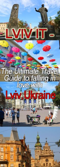 Ever thought of visiting Lviv (Ukraine)? We've spent a combined 4 months there and love this city. Have a look at this HUGE Guide covering things to do, places to see, where to eat, the best cafes (Lviv has an incredible coffee culture), best viewpoints, best daytrips.   #Lviv #Ukraine #travel