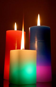 Candles that will burn all year long.