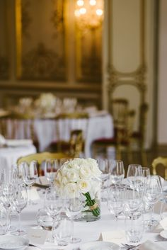 Destination Wedding: A Timeless Parisian Affair. Monika Kandefer & Sebastian Cwik. Photography: Dream Eye Studio Reception Venue: Les Salons France-Amériques Florist: Un Peu, Beaucoup Paris