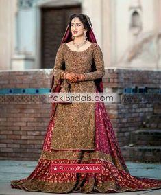 Pak-Bridal-Wear-New-Dresses-Bride-Dress-ee - Copya Pakistani Bridal Dresses Online, Pakistani Wedding Outfits, Pakistani Bridal Wear, Pakistani Wedding Dresses, Wedding Dresses For Girls, Pakistani Dress Design, Bridal Outfits, Bridal Lehenga, Bridal Mehndi