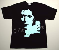 DAVID BOWIE drawing 6 DELUXE CUSTOM ART UNIQUE T-SHIRT   Each T-shirt is individually hand-painted, a true and unique work of art indeed!  To order this, or design your own custom T-shirt, please contact us at info@collectorware.com, or visit  http://www.collectorware.com/tees-david_bowie.htm