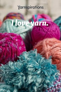 Yarn, Crochet, and Knitting Supplies and Patterns Finger Knitting, Hand Knitting, Knitting Patterns, Crochet Patterns, Christmas Pillow Covers, Yarn Inspiration, Knitting Supplies, Yarn Brands, Creative Crafts
