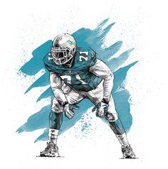 ESPN - NFL Illustrations on Behance