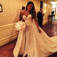 Sofia Vergara wears custom Zuhair Murad wedding dress