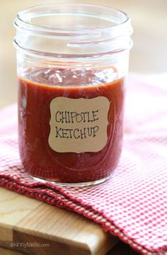 Spicy Chipotle Ketchup
