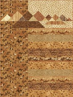 - Turk Mountain Quilt Kit