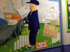 The jolly postman display year1