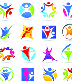 Sport elements logo and icon vector 04 - Sport Icons free download