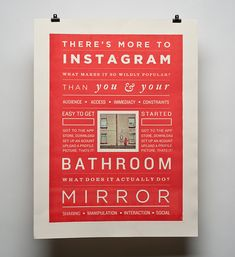 Axlif.com - The posters were designed as part of my degree project, based on the mobile app Instagram.
