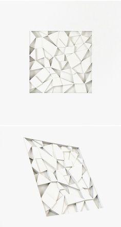 cut/layered paper by huntz liu