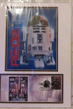Star Wars R2-D2 Cover USPS 1st DAY ISSUE MATTED w/stamp 05/25/07 Sealed