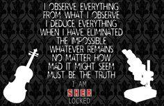I AM SHERLOCKED Sherlock Bbc Quotes, Just Love, Love Of My Life, Irene Adler, Mycroft Holmes, Movie Tv, Detective Agency, Baker Street, Image Search