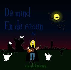 Griezelliedje van Tijl Damen over de enge geluiden van wind en regen. Heel geschikt voor Halloween! Tekst en akkoorden: http://tijldamen.nl/kinderliedjes/griezelen/de-wind-en-de-regen