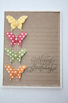 Artisan Design Team Box #5 butterfly card
