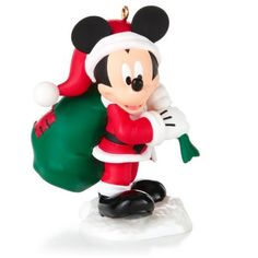 Who better to play Santa than Mickey?  Part of the Year of Disney Magic series, but perfect as a stand alone, too.