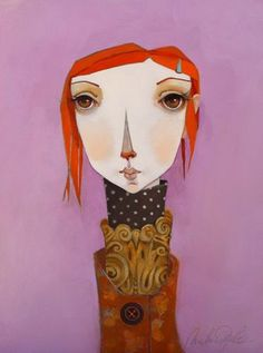 Melissa Peck here and here The more I paint the less words I seem to have. As long as I can remember I have thought of myself as an a. Portrait Inspiration, Character Inspiration, Mixed Media Faces, Female Drawing, Modern Portraits, Face Art, Art Faces, Female Images, Figure Painting