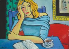 Guillermo Martí Ceballos Rubia en la mesa azul (2007)