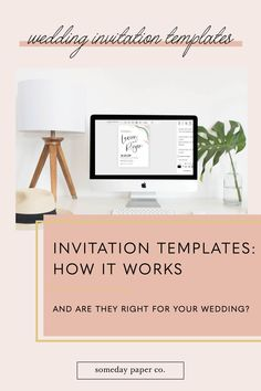 Have you considered using an invitation template for your wedding? Let me let you in on a little secret - it's the best way to get your pretty paper on a budget! Here's exactly how wedding invitation template works (so. easy.)!
