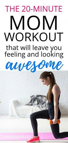 Best workout plan for Moms at home because it takes 20 minutes! Workouts combi… Best workout plan for Moms at Fitness Humor, Fitness Workouts, Life Fitness, Fitness Gym, Gewichtsverlust Motivation, Fun Workouts, At Home Workouts, Health Fitness, Physical Fitness