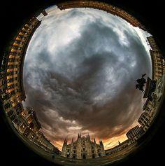 Buona notte #Milano Good night #Milan Ph Franco Brandazzi #milanodavedere Milano da Vedere