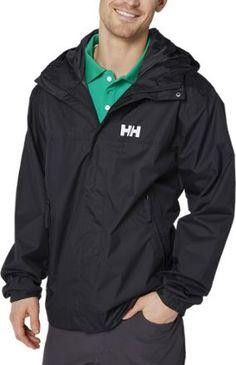Helly Hansen Men's Ervik Rain Jacket Black L