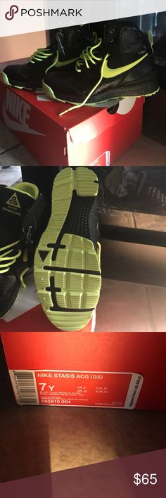 Nike Stasis ACG (GS) waterproof sneak/ boot N bet been worn; new with tags. Nike ACG Shoes Sneakers