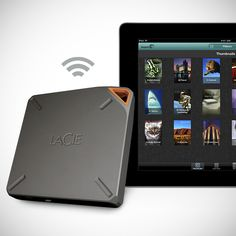 Lacie Fuel Wi-Fi External HDD Plus Router