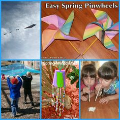 Fun activities, experiments and crafts for exploring wind with kids