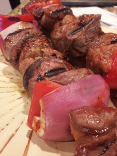 Mix this staple summer dinner with a refreshing glass of our 2011 Rose de Pinot Gris. Grilled Filet Mignon Kebabs #gooseridgewines #winepairing #summer