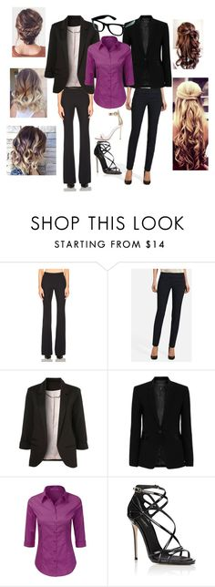 """""""Work"""" by alindsey2021 on Polyvore featuring Alexander McQueen, rag & bone, Dolce&Gabbana and Gianvito Rossi"""