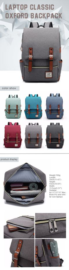 Laptop Classic Backpack /  Shoulder Bags for Travel&School