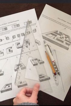 One Point Perspective - with video for distance learning Perspective Drawing Lessons, One Point Perspective, Perspective Art, Maze Drawing, 3d Maze, Middle School Art, Sketch Inspiration, Teacher Tools, Stem Activities