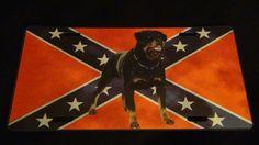 Rebel Rottweiler!