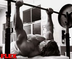 Arnold Schwarzenegger's Chest/Back & Biceps/Triceps Superset Workouts