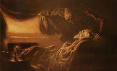 The Old Hag : A nocturnal phenomenon involving suffocation, paralysis, and supernatural smells, sounds and apparitions, blamed on night terror, demons or witches.