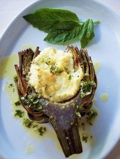 ricotta stuffed artichokes
