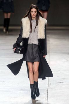 See all of the best looks from London Fashion Week: Topshop Unique