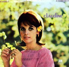 Vintage Vinyl LP Album - Claudine By Claudine Longet, A&M Records, A&M SP-4121, Released 1967.