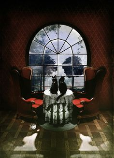 Room Skull Art Print~It is interesting isn't it....