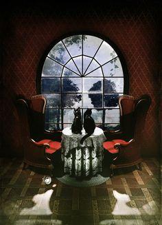 Room Skull Art Print~It is interesting isn't it....