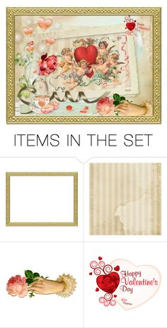 """""""happy valentine's day"""" by mamierosie ❤ liked on Polyvore featuring art"""
